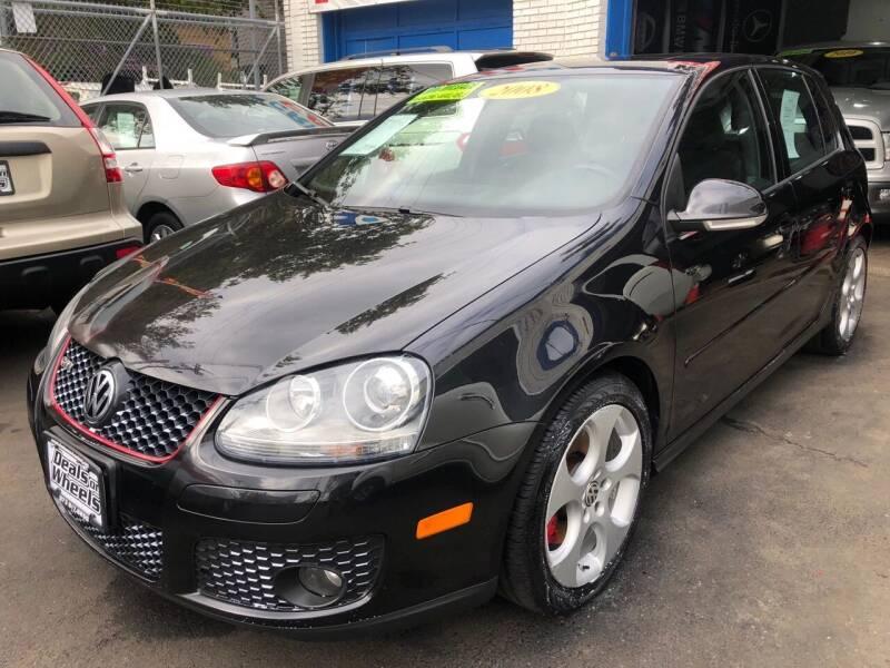 2008 Volkswagen GTI for sale at DEALS ON WHEELS in Newark NJ