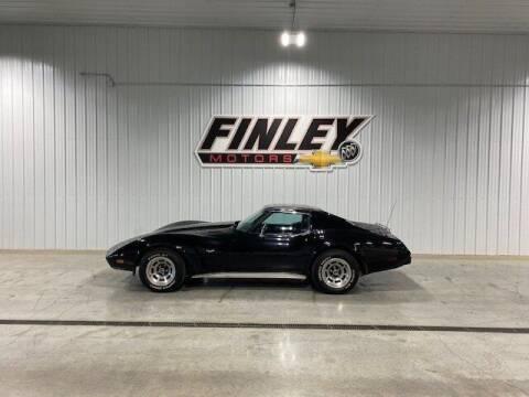 1977 Chevrolet Corvette for sale at Finley Motors in Finley ND