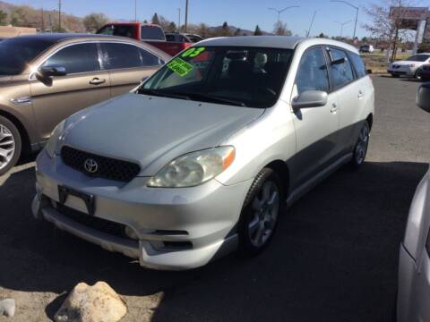 2003 Toyota Matrix for sale at Small Car Motors in Carson City NV