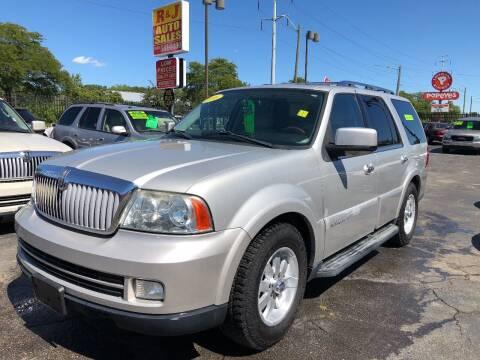 2006 Lincoln Navigator for sale at RJ AUTO SALES in Detroit MI