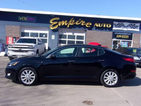 2014 Kia Optima for sale at Empire Auto Sales in Sioux Falls SD