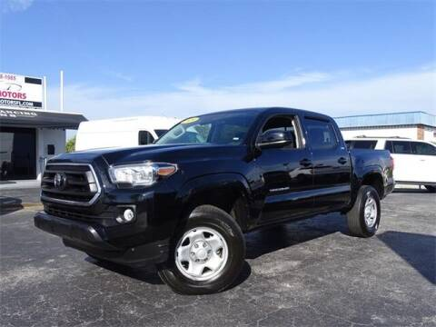 2020 Toyota Tacoma for sale at Automotive Credit Union Services in West Palm Beach FL