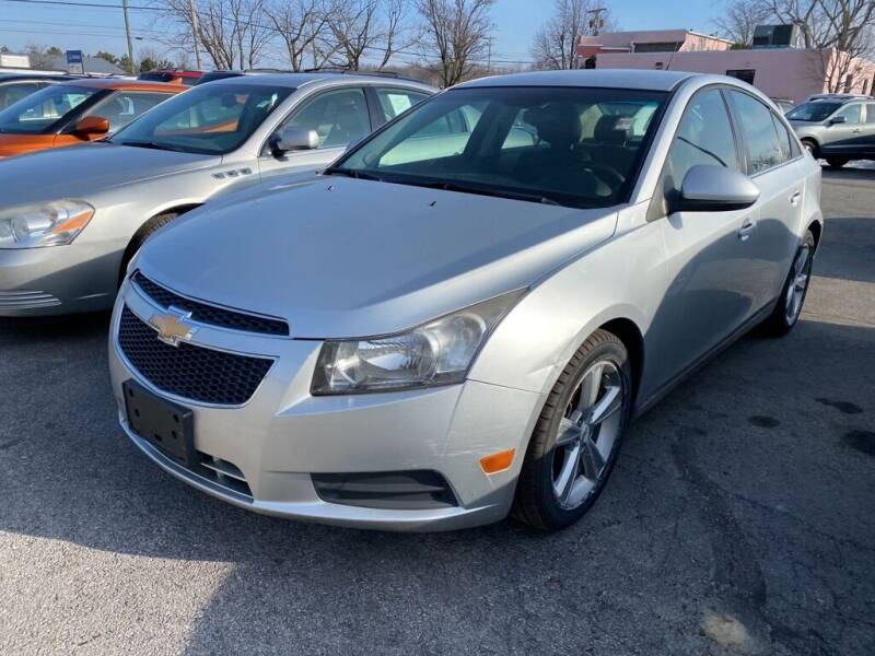 2012 Chevrolet Cruze for sale at Lakeshore Auto Wholesalers in Amherst OH