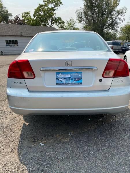 2002 Honda Civic EX 4dr Sedan - Lakewood CO