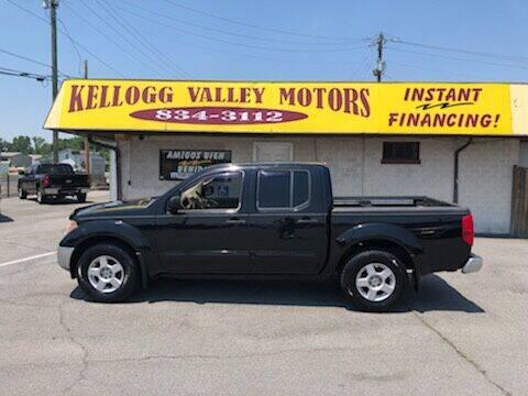 2005 Nissan Frontier for sale at Kellogg Valley Motors in Gravel Ridge AR