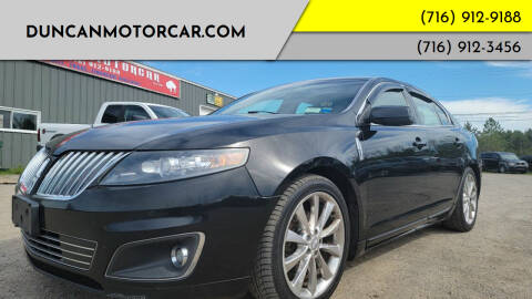 2012 Lincoln MKS for sale at DuncanMotorcar.com in Buffalo NY