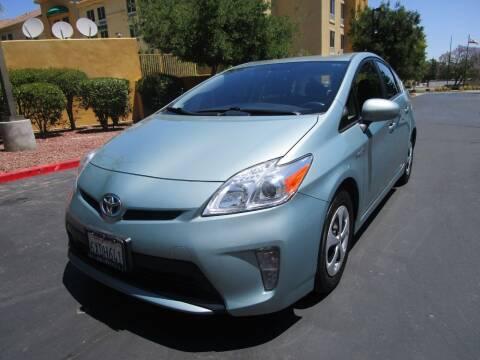 2012 Toyota Prius for sale at PRESTIGE AUTO SALES GROUP INC in Stevenson Ranch CA