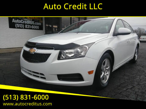 2013 Chevrolet Cruze for sale at Auto Credit LLC in Milford OH
