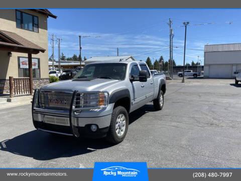 2011 GMC Sierra 2500HD for sale at Rocky Mountain Motors in Idaho Falls ID