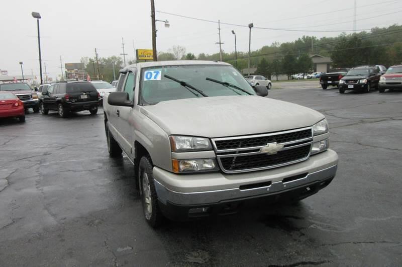 2007 Chevrolet Silverado 1500 Classic for sale at Burgess Motors Inc in Michigan City IN