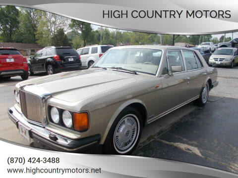 1989 Bentley Mulsanne for sale at High Country Motors in Mountain Home AR