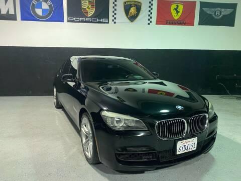 2012 BMW 7 Series for sale at LG Auto Sales in Rancho Cordova CA