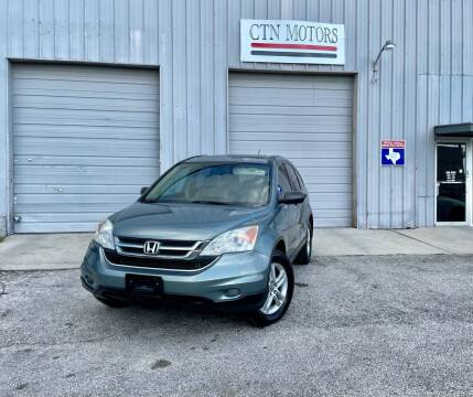 2010 Honda CR-V for sale at CTN MOTORS in Houston TX