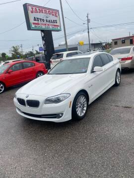 2013 BMW 5 Series for sale at Jamrock Auto Sales of Panama City in Panama City FL