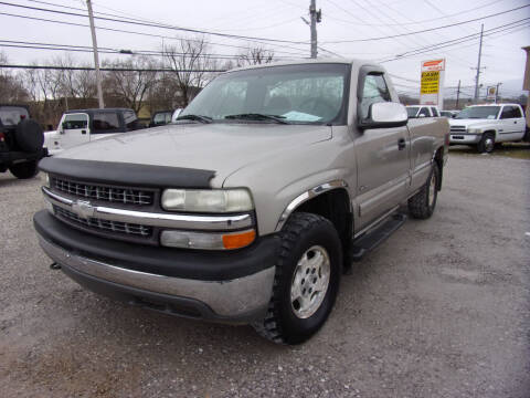 2000 Chevrolet Silverado 1500 for sale at RAY'S AUTO SALES INC in Jacksboro TN