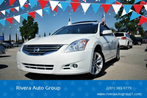 2012 Nissan Altima for sale at Rivera Auto Group in Spring TX
