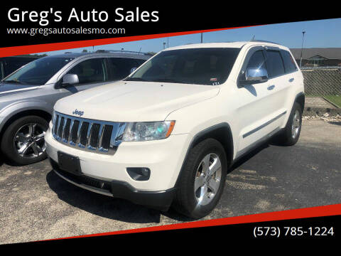 2011 Jeep Grand Cherokee for sale at Greg's Auto Sales in Poplar Bluff MO