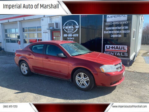 2008 Dodge Avenger for sale at Imperial Auto of Marshall in Marshall MO