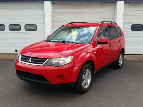 2007 Mitsubishi Outlander for sale at Action Automotive Inc in Berlin CT