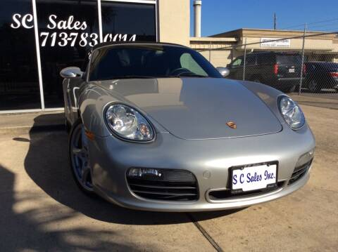 2007 Porsche Boxster for sale at SC SALES INC in Houston TX