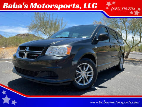 2014 Dodge Grand Caravan for sale at Baba's Motorsports, LLC in Phoenix AZ