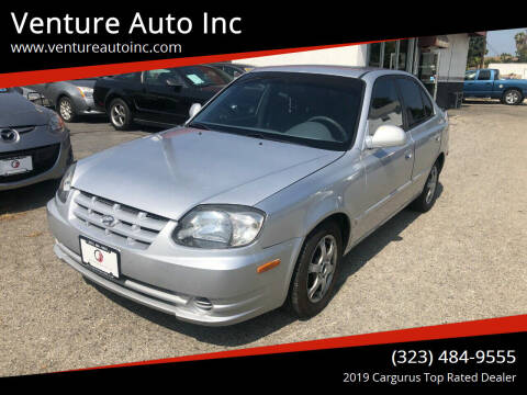 2004 Hyundai Accent for sale at Venture Auto Inc in South Gate CA