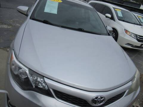 2012 Toyota Camry for sale at Maluda Auto Sales in Valdosta GA