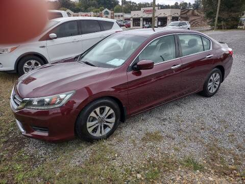 2014 Honda Accord for sale at Wholesale Auto Inc in Athens TN