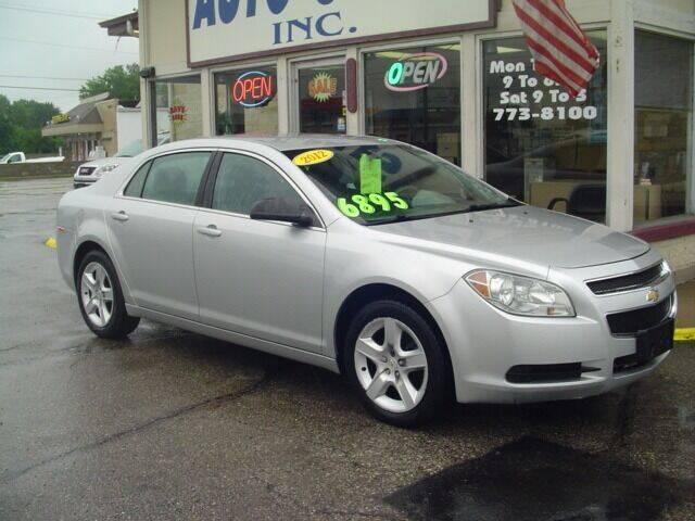 2012 Chevrolet Malibu for sale at G & L Auto Sales Inc in Roseville MI
