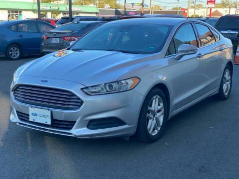 2016 Ford Fusion for sale at MAGIC AUTO SALES in Little Ferry NJ