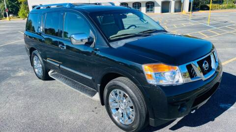 2015 Nissan Armada for sale at H & B Auto in Fayetteville AR
