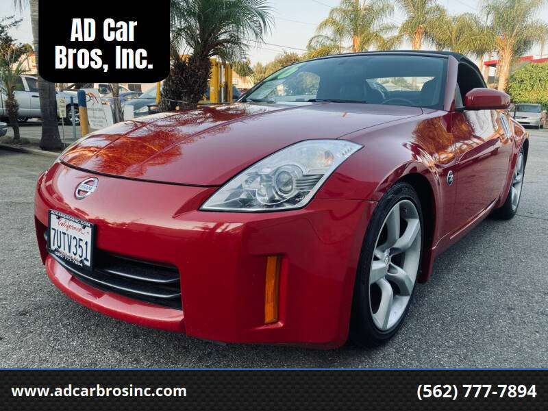 2006 Nissan 350Z for sale at AD Car Bros, Inc. in Whittier CA