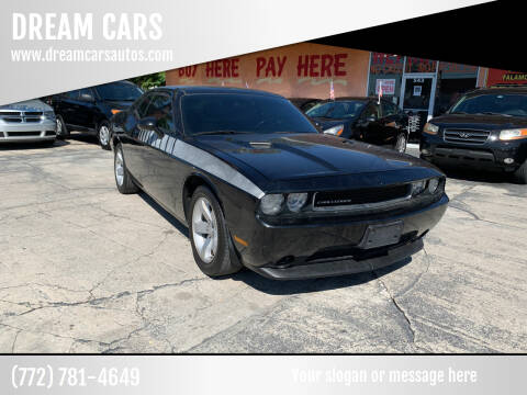 2011 Dodge Challenger for sale at DREAM CARS in Stuart FL