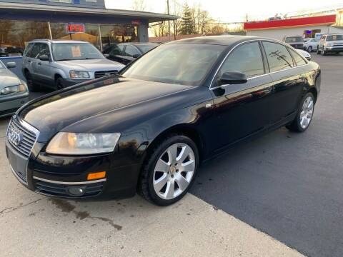 2007 Audi A6 for sale at Wise Investments Auto Sales in Sellersburg IN
