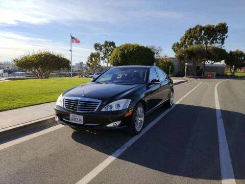 2008 Mercedes-Benz S-Class for sale at DNZ Auto Sales in Costa Mesa CA