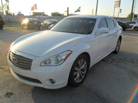 2011 Infiniti M37 for sale at Talisman Motor City in Houston TX