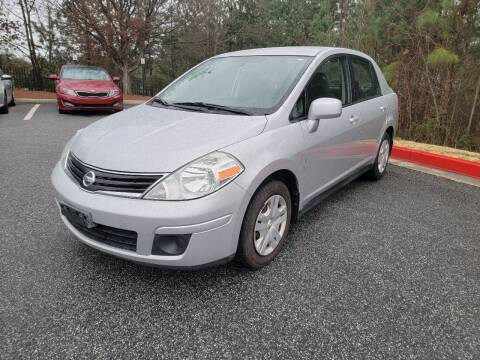 2011 Nissan Versa for sale at MJ AUTO BROKER in Alpharetta GA