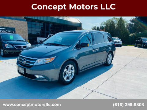2011 Honda Odyssey for sale at Concept Motors LLC in Holland MI