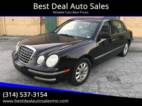 2005 Kia Amanti for sale at Best Deal Auto Sales in Saint Charles MO