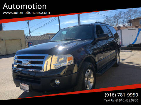 2007 Ford Expedition for sale at Automotion in Roseville CA