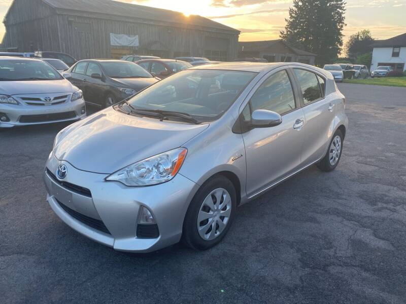 2013 Toyota Prius c for sale at Paul Hiltbrand Auto Sales LTD in Cicero NY