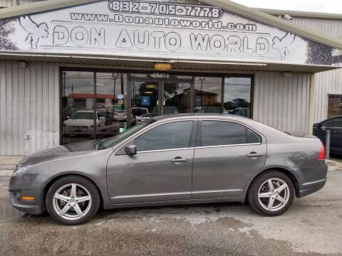 2011 Ford Fusion for sale at Don Auto World in Houston TX