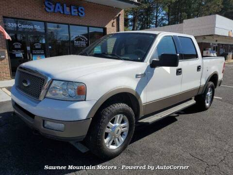 2004 Ford F-150 for sale at Michael D Stout in Cumming GA