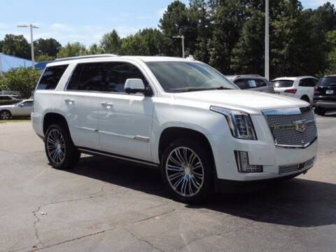 2018 Cadillac Escalade for sale at Auto Finance of Raleigh in Raleigh NC