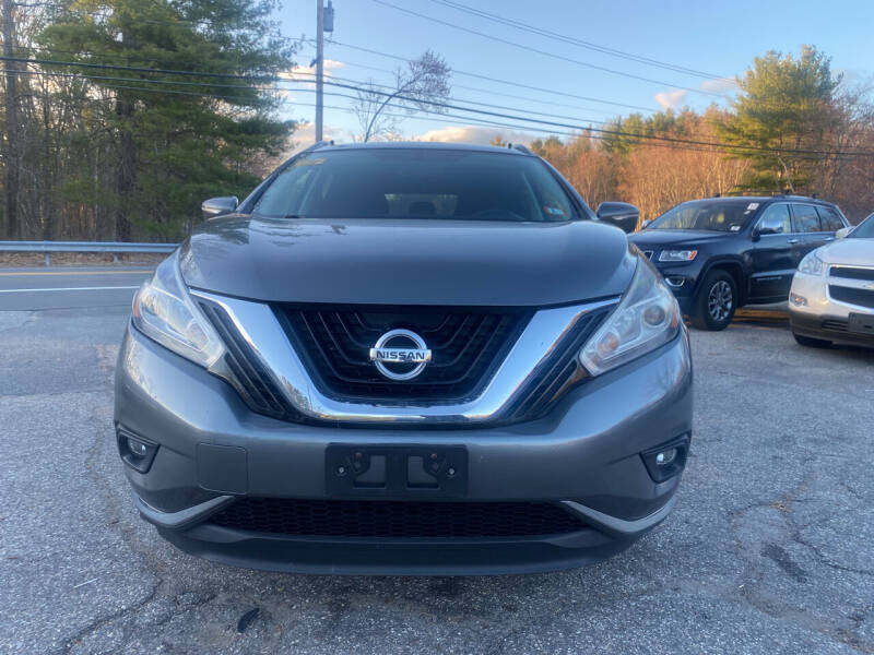 2015 Nissan Murano for sale at Royal Crest Motors in Haverhill MA