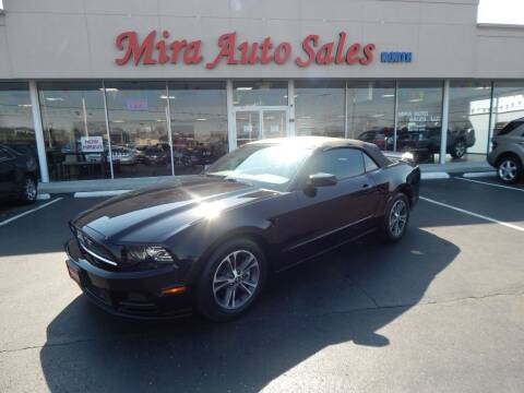 2014 Ford Mustang for sale at Mira Auto Sales in Dayton OH