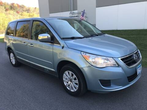 2009 Volkswagen Routan for sale at Angies Auto Sales LLC in Newport MN