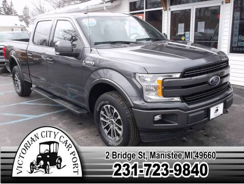 2018 Ford F-150 for sale at Victorian City Car Port INC in Manistee MI