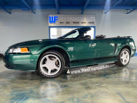2002 Ford Mustang for sale at Wes Financial Auto in Dearborn Heights MI