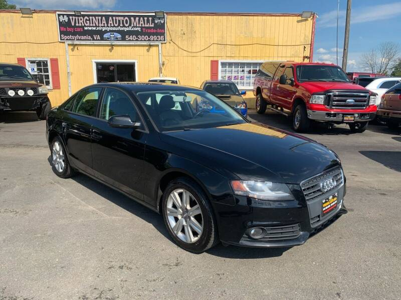 2010 Audi A4 for sale at Virginia Auto Mall in Woodford VA